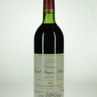 1982 Haut Bages Liberal - 750 mL