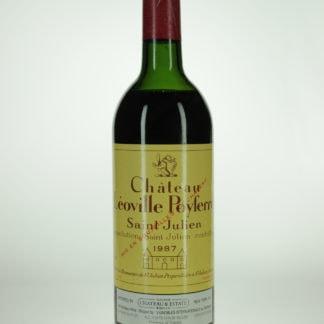 1987 Leoville Poyferre (Mid Shoulder) - 750 mL