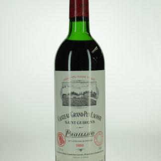 1986 Grand Puy Lacoste (Top Shoulder) - 750 mL