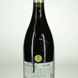 2007 Barroche Chateauneuf Du Pape Pure (Label Condition) - 750 mL
