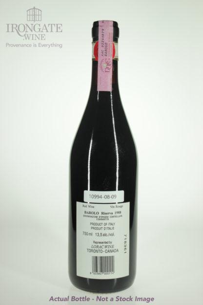 1988 Giacomo Borgogno Barolo Riserva - 750 mL
