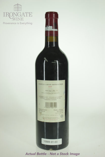 2007 Lafite Rothschild - 750 mL