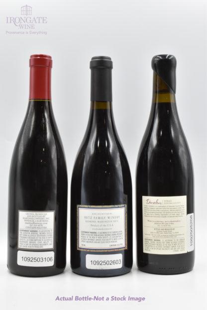 Syrah Varietal Pack (Russian River, Columbia Valley, Sonoma) - 3 bottles - 750 mL