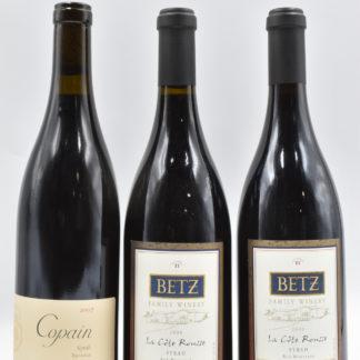 Syrah Varietal Pack (Monterey and Columbia Valley) - 3 bottles - 750 mL