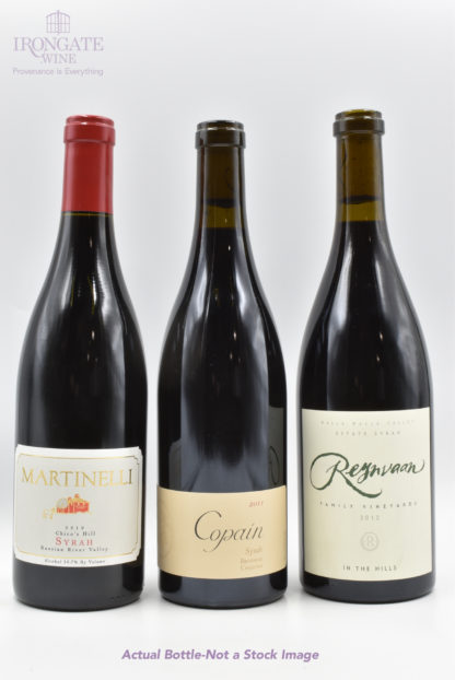 Syrah Favourites (mixed vintages) - 3 bottles - 750 mL