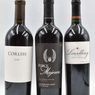Cabernet Sauvignon Vertical - 3 bottles - 750 mL