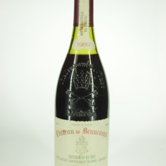 1989 Beaucastel Chateauneuf Du Pape (Low Fill) - 750 mL