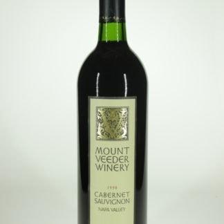 1998 Mount Veeder Cabernet Sauvignon - 750 mL