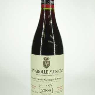 2008 Comte Vogue Chambolle Musigny - 750 mL