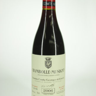 2006 Comte Vogue Chambolle Musigny - 750 mL