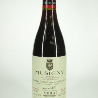 2008 Comte Vogue Musigny Vv - 750 mL