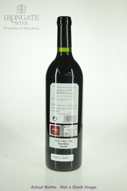 2001 Roda Rioja Reserva Roda 1 - 750 mL