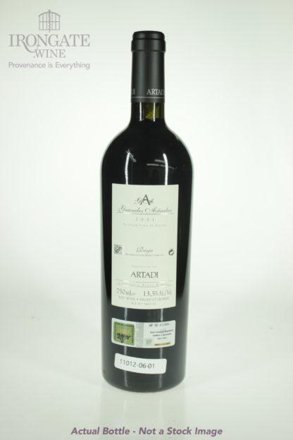 2001 Artadi Rioja Grandes Anadas - 750 mL
