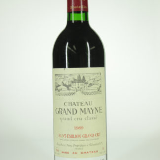 1989 Grand Mayne - 750 mL