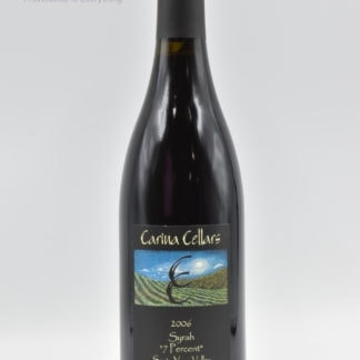 2006 Carina Cellars Syrah 7 Percent - 750 mL