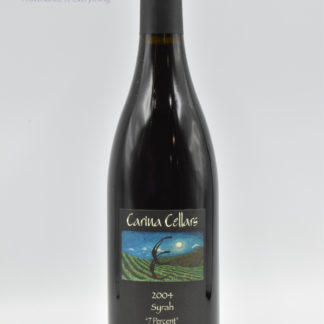 2004 Carina Cellars Syrah 7 Percent - 750 mL