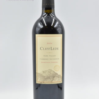 2004 Cliff Lede Cabernet Sauvignon Stagecoach - 750 mL