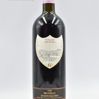 1999 Poggio San Polo Brunello Montalcino - 750 mL