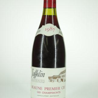 1987 Jaffelin Beaune Premier Cru Les Champimonts  - 750 ml