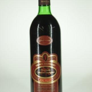 1986 Brown Brothers Cabernet Sauvignon Koombahla - 750 ml