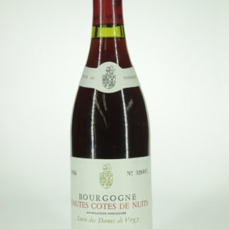 1986 Guyon Hautes Cotes de Nuits Dames de Vergy - 750 ml