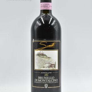 1997 Livio Sassetti (Pertimali) Brunello Montalcino - 750 mL