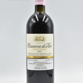 1997 Casanova di Neri Brunello Montalcino Tenuta Nuova - 750 mL