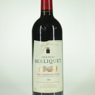 1998 Berliquet (Torn Label)  - 750 mL