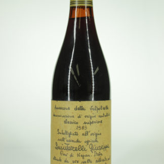 1983 Giuseppe Quintarelli Amarone Valpolicella Classico Riserva - 750 mL