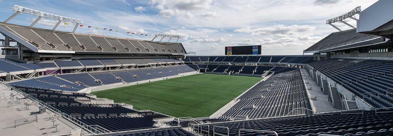 southwestern university stadium construction