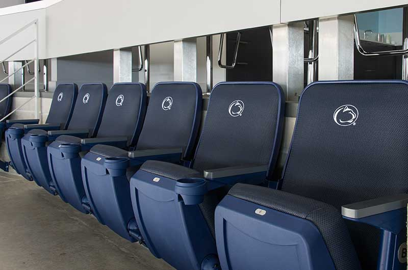 Options And Accessories For Fixed Audience Seating