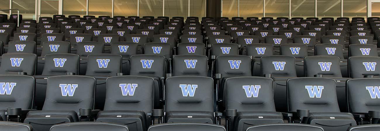 University Of Washington Husky Stadium With Irwin Seating