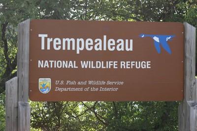 Trempeauleau NWR Sign