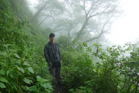 Noah in the Yungas cloud forest in northwest Argentina.