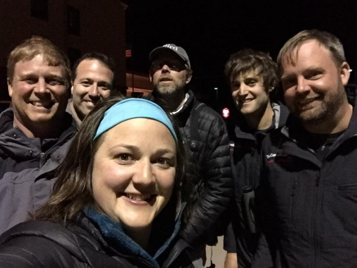 Team Sapsucker in Colorado after their record-breaking big day