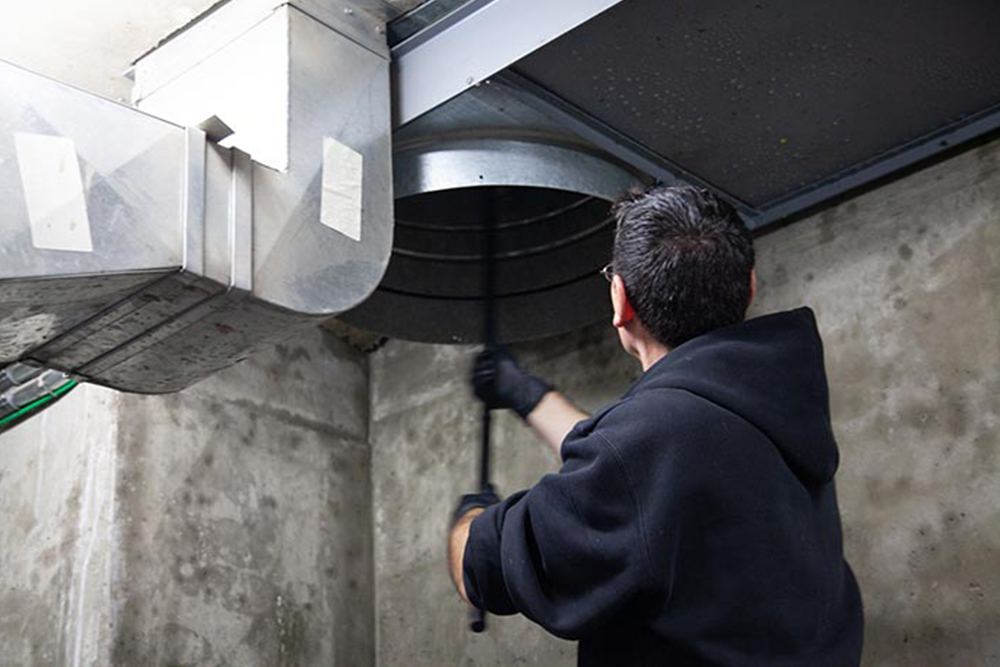 Cleaning Garbage Chute