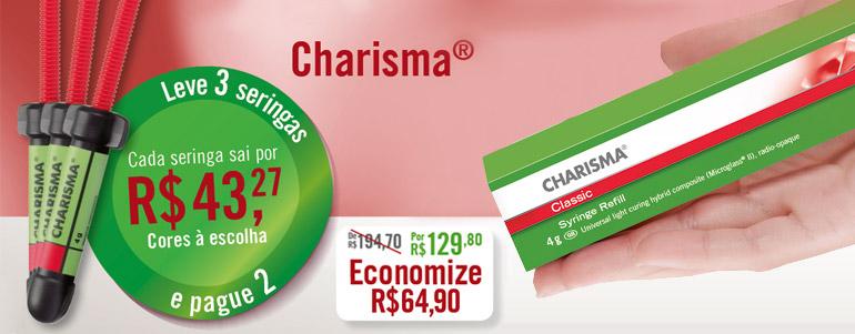 Charisma - Leve 3 seringas e pague 2