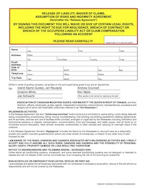 ACMG WAIVER Page 1
