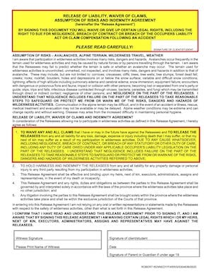 ACMG WAIVER Page 2