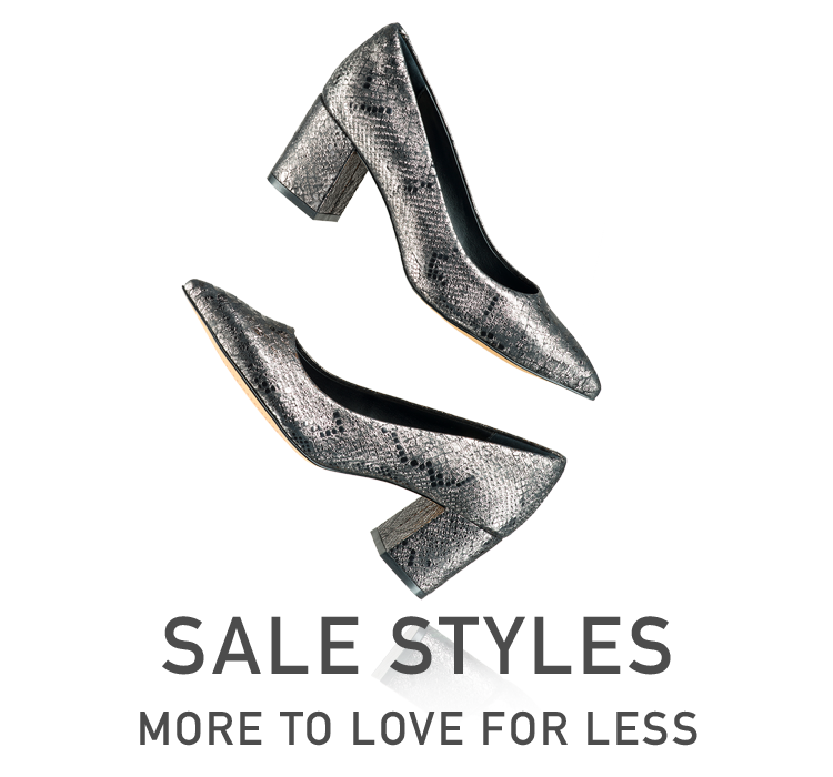 Sale Styles - More to love for less.