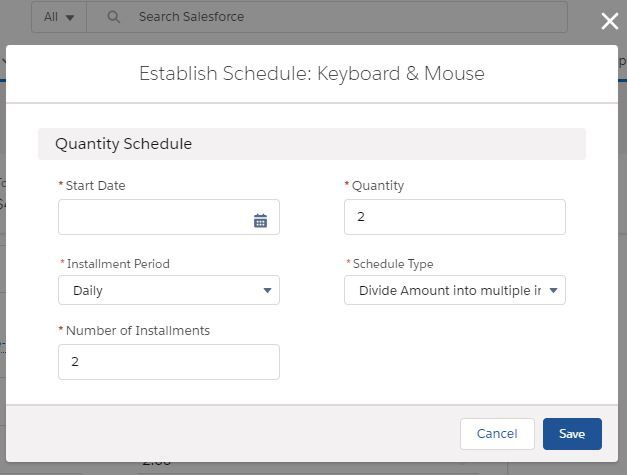 product-schedules-establish