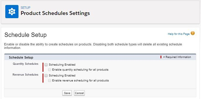 product-schedules