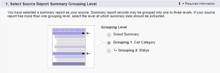 reporting-snapshot-grouping-level