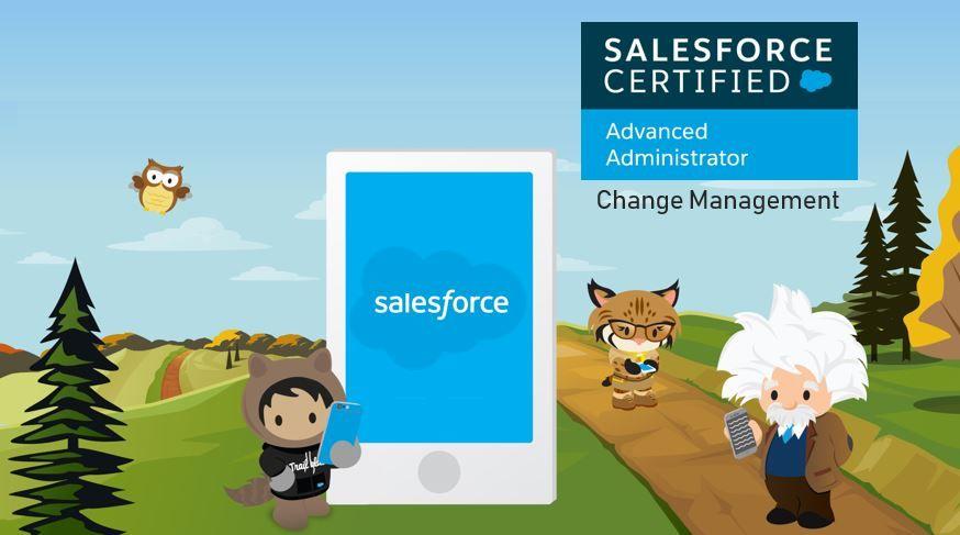 Salesforce Advanced Adminstrator Exam Preparation: Change Management
