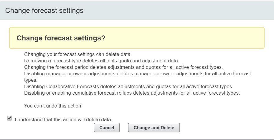 change-forecast-settings