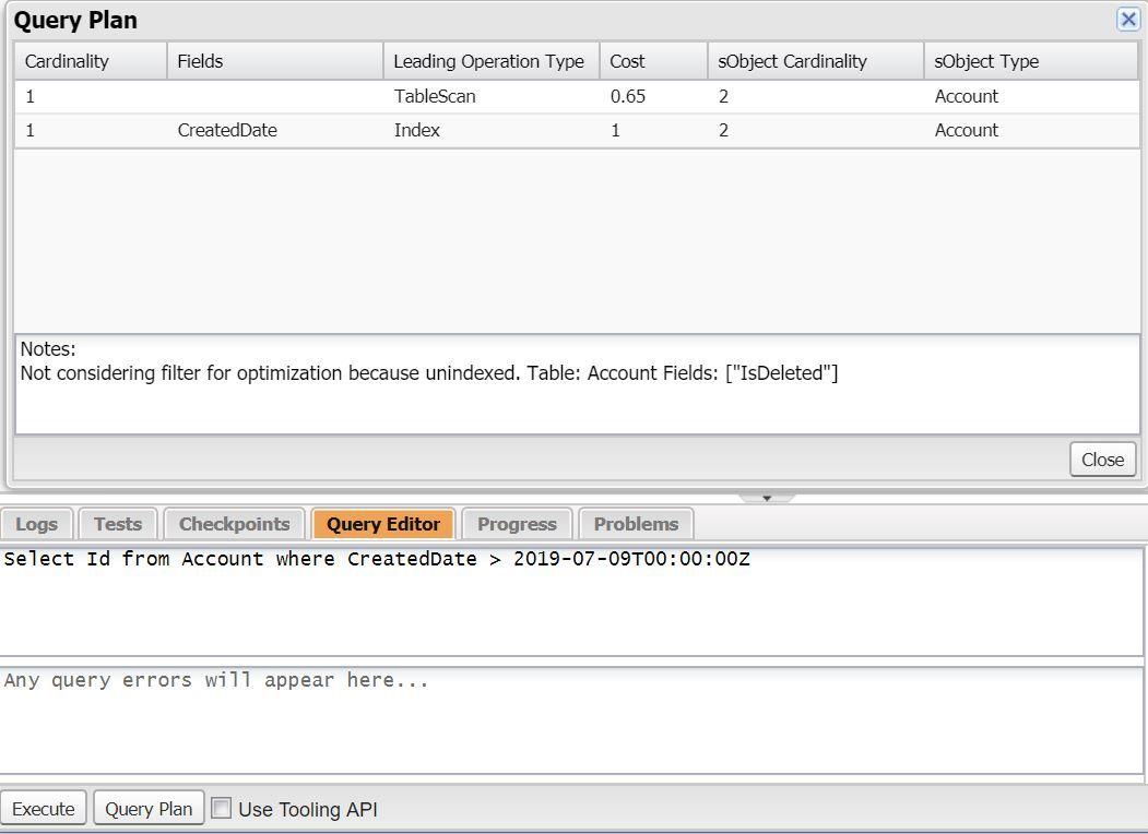developer-console-query-plan