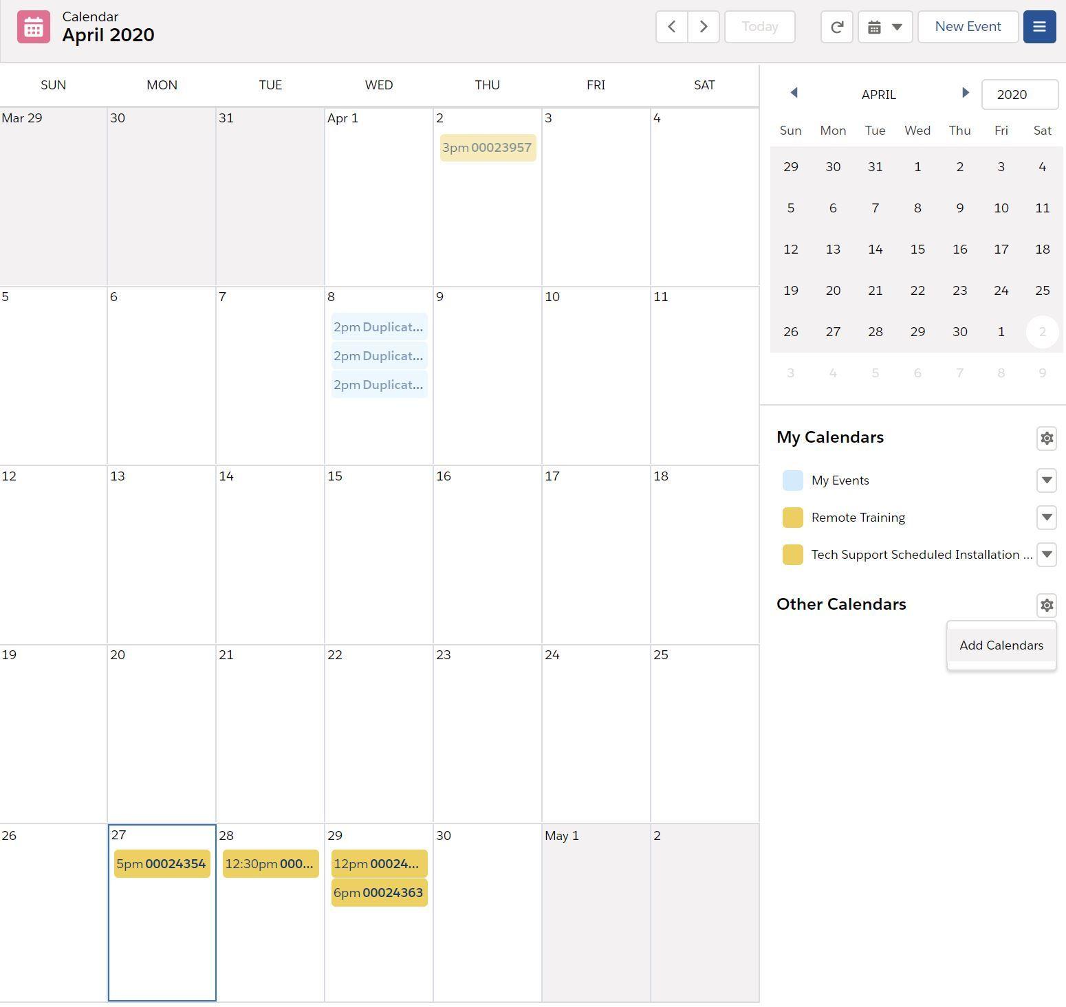 access-personal-calendar