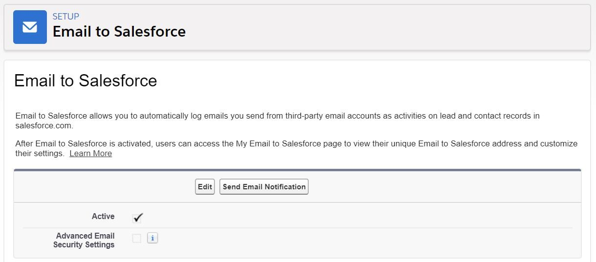 email-to-salesforce-enabled