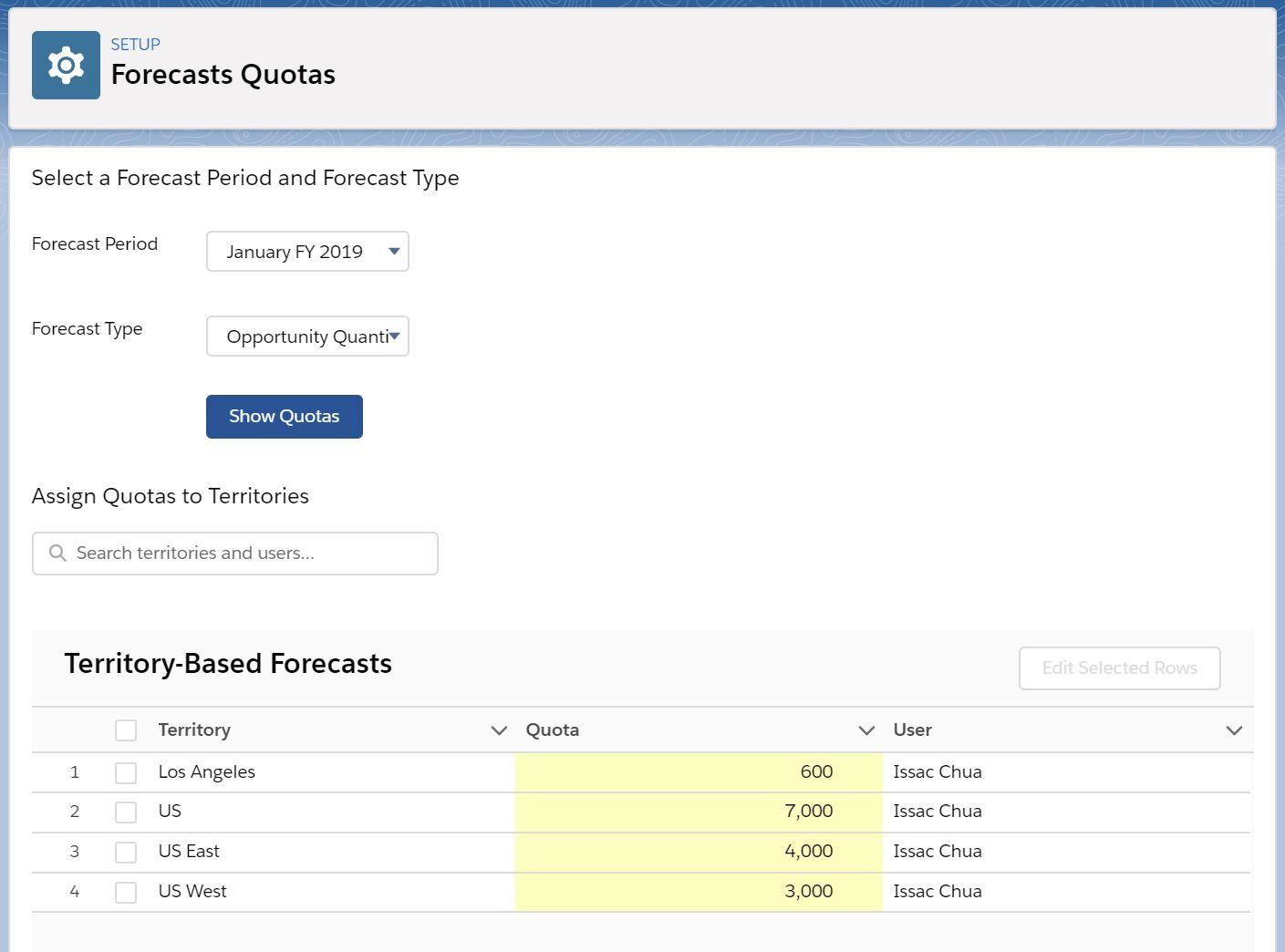 forecast-quota-based-on-territory