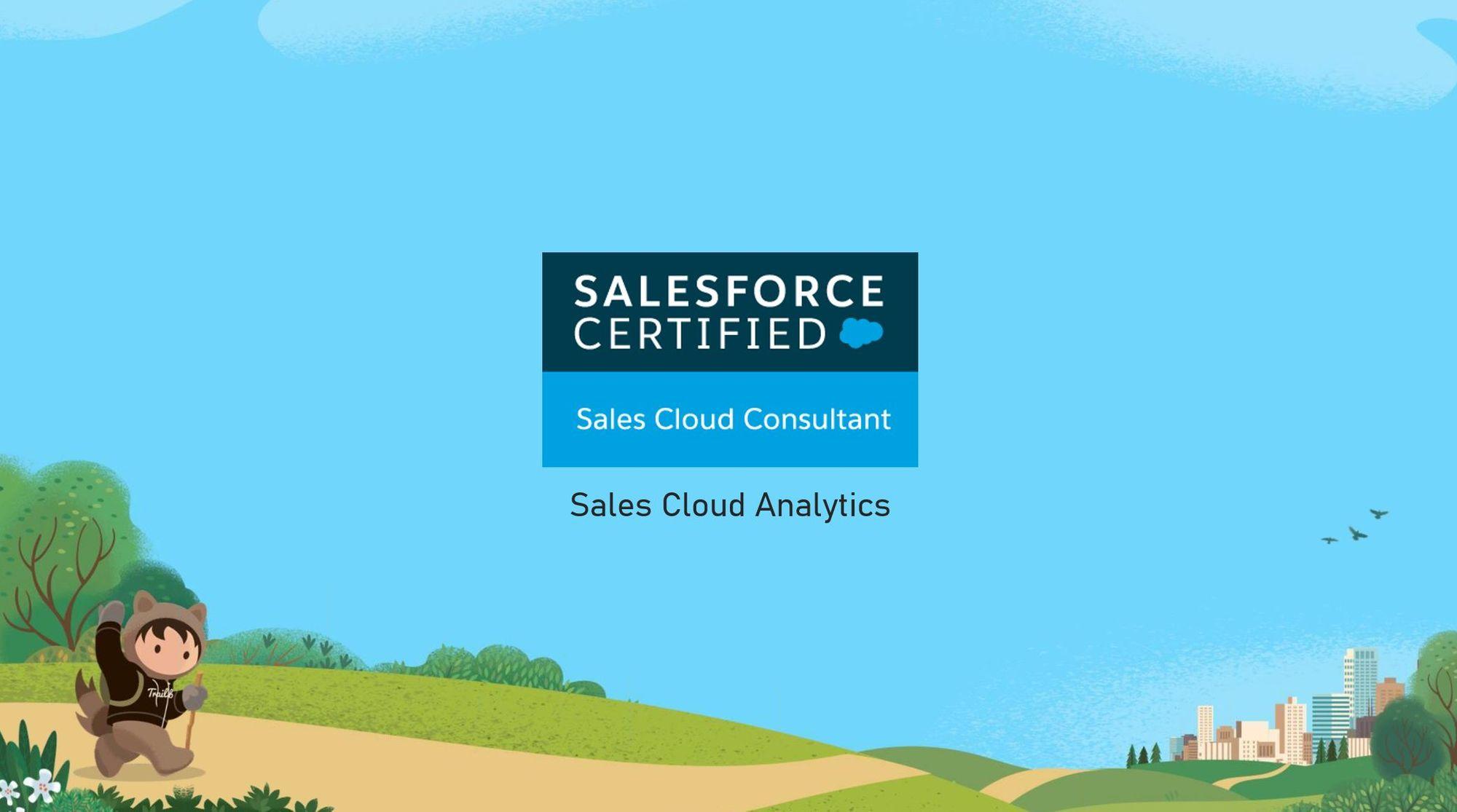 Salesforce Sales Cloud Consultant Exam Preparation: Sales Cloud Analytics